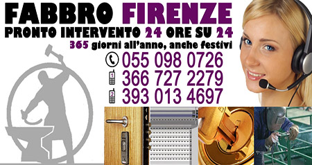 Fabbro serrature Firenze: 366 727 2279
